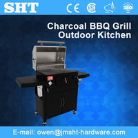 New China Products Stainless Steel Outdoor Barbeque Charcoal Grill
