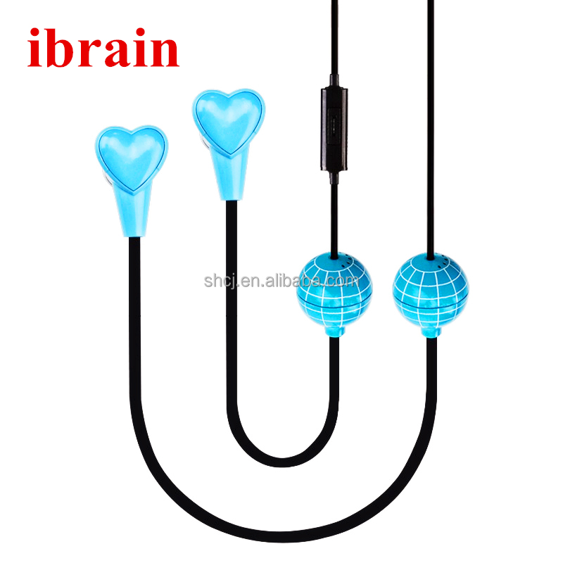 Ibrain FC Anti Radiation Headset Globe Style with Microphone for mobile Phone