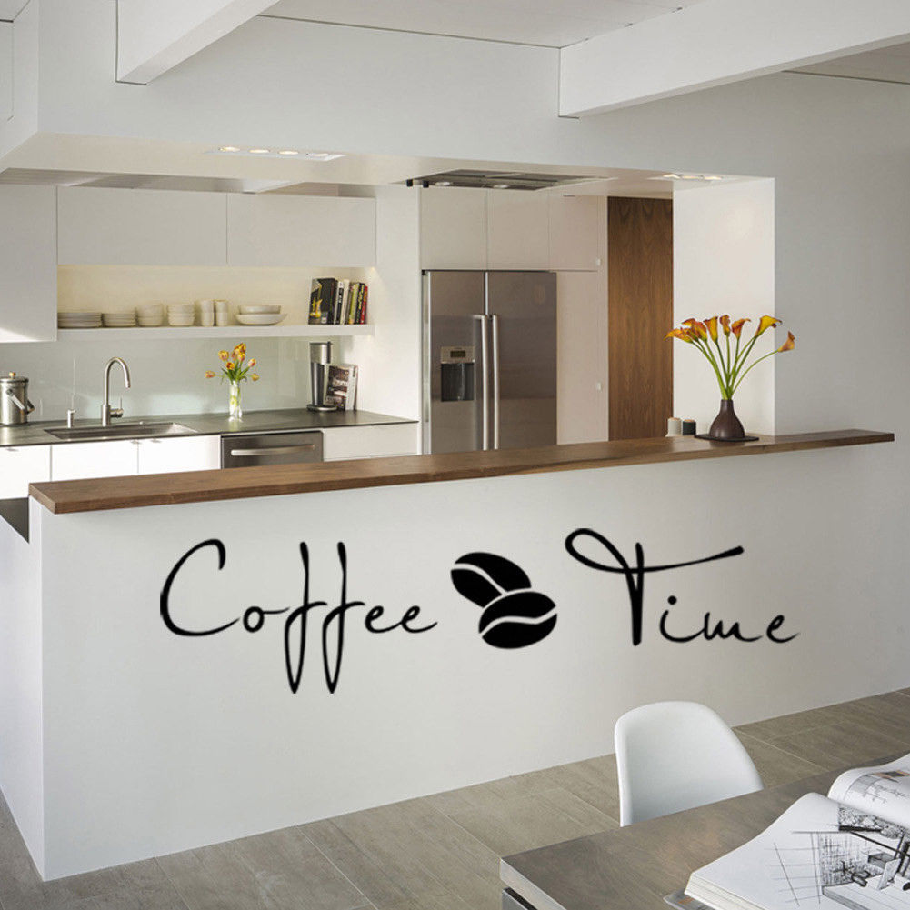 Customized  Family Kitchen Wall Pvc Vinyl Stickers