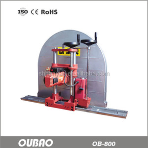 OB-800 electric concrete brick wall cutting machine with 800mm blade saw