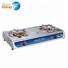 Hot Sale Electronic Ignition 2 burner burner gas cooker stove