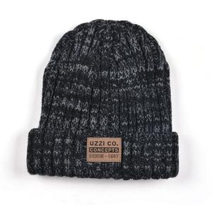 e780e78f9 Custom design bulk beanie knit hat leather label mens winter cap,men hat