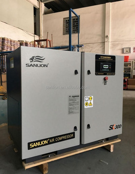 Energy Saving 30HP/22KW 8bar Screw Air Compressor Hangzhou G20 Summit Factory