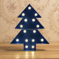 Decorative Christmas tree with led bulb light