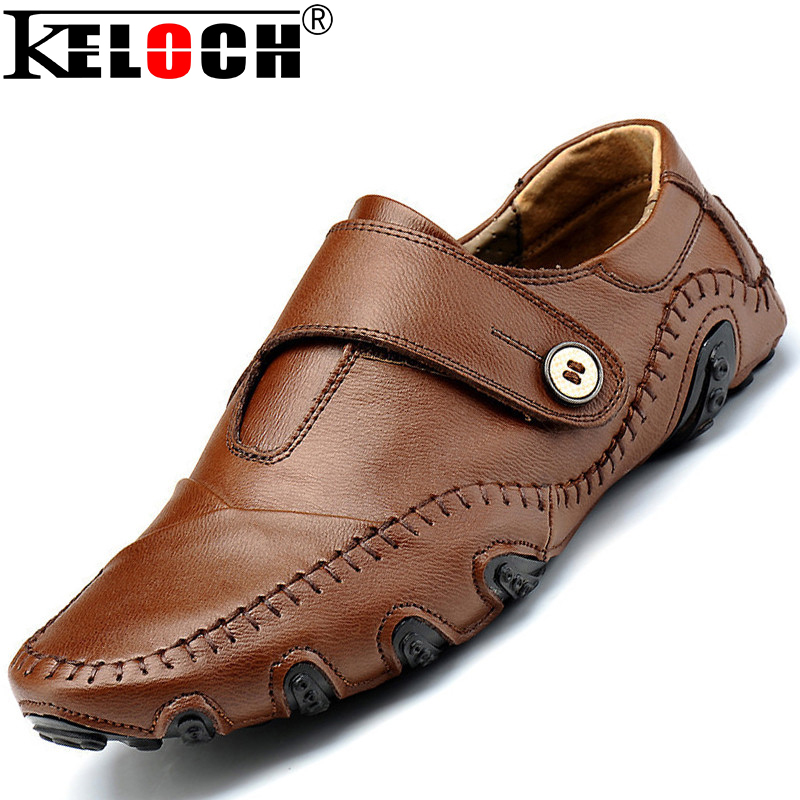 Wooden Heel Mens Shoes