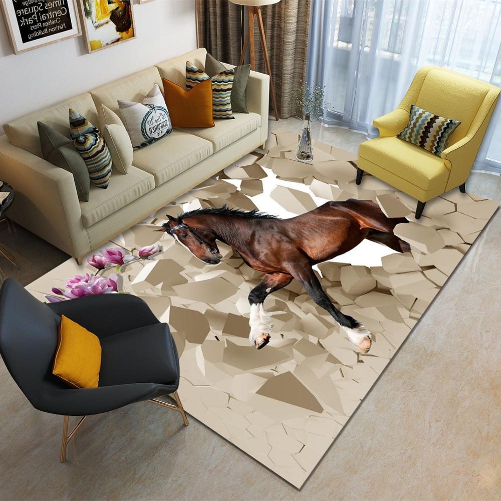 Warehouse Flower Carpet Horse Rug