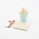 Natural Color Wooden Coffee Stirrers Flavored Coffee Sticks