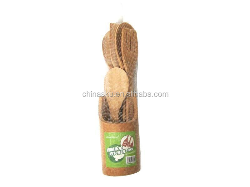 Wholesale common funny bamboo kitchen tools