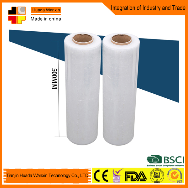 Polyethylene Stretch Film LLDPE cast Stretch Film with High quality