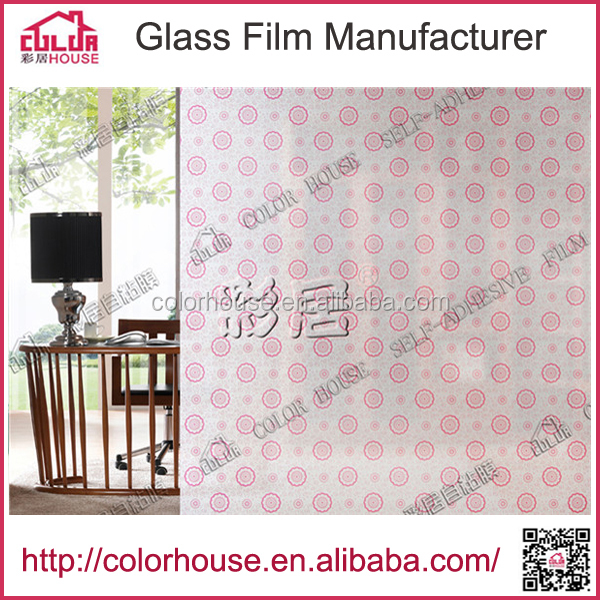 window glass pvc super clear film for kitchen design