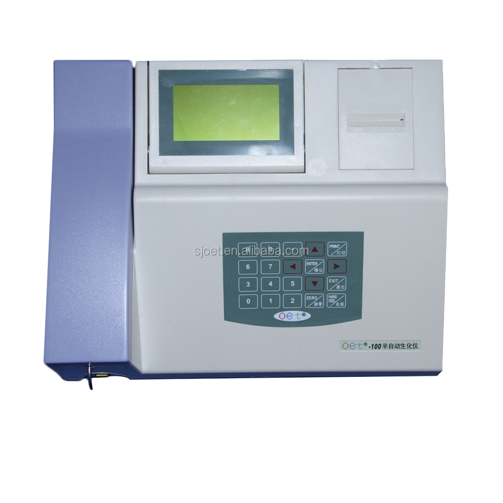 Lab testen machines menselijk semi auto biochemie analyzer