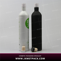 New design bottle of red wine
