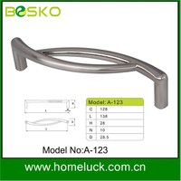 Provid currently zinc alloy type drawer handle in furniture hardware