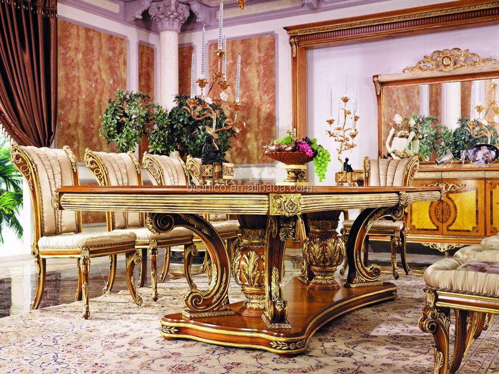 Foglia Oro In Stile Lusso Francese Sala Da Pranzo Mobili/stile ...