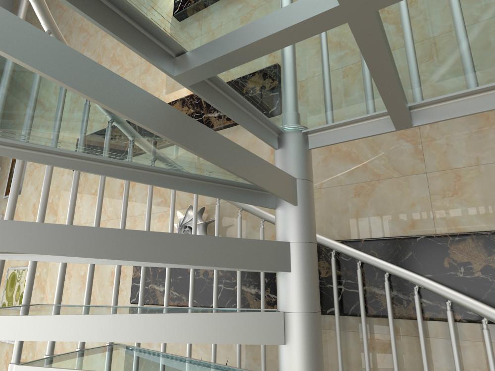Prefabricated Portable Aluminum Spiral Stairs Yudi Buy