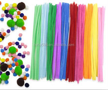 #14042706 China factory colorful craft wire pipe cleaners for diy craft education