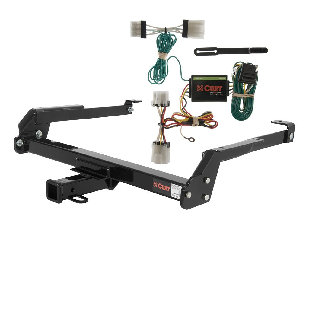 Get Quotations · CURT Class 3 Trailer Hitch Bundle with Wiring for Nissan  D21, Pickup - 13092 &