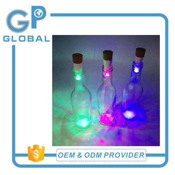 Multi Colour Led Garden Bottle String Solar Lights Custom Gl Colorful Lighting
