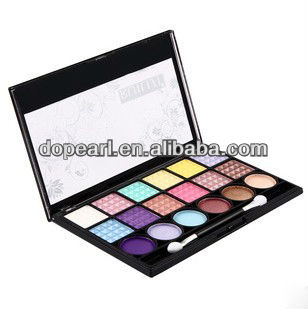 Beauty make up 18 color Mineral Eyeshadow palette