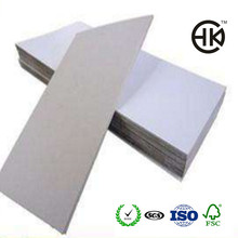 Wholesale China Supplier Hongkai 700g/900g/1200g/1mm/1.5mm/2mm White Back Duplex Board/Coated Duplex Board Paper With Grey Back