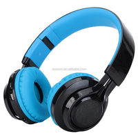 Blue tooth Headset Stereo Wireless Sport Headphones for Running with Microphone (5Hours Talk Time, Blue tooth 4.1