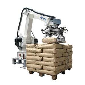 High speed 6 axis automatic robot palletizer for cement bags packing