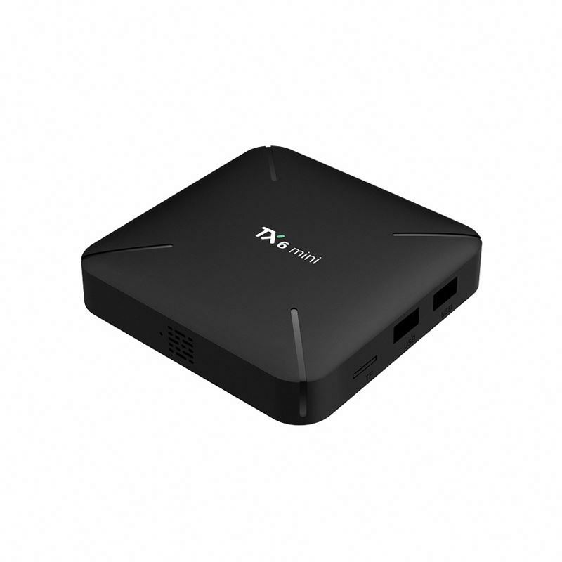 Tv satellitare android 9.0 in diretta quad core android smart BT TX6 H6 4G 32G tv box