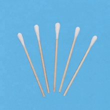 Gezichtscrème applicator wattenstaafjes katoen tip applicator, spons tip applicators