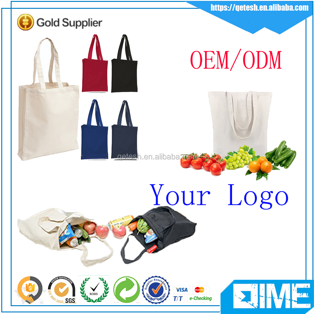 Beautiful Printed Canvas Bag OEM Production Canvas Tote Bag