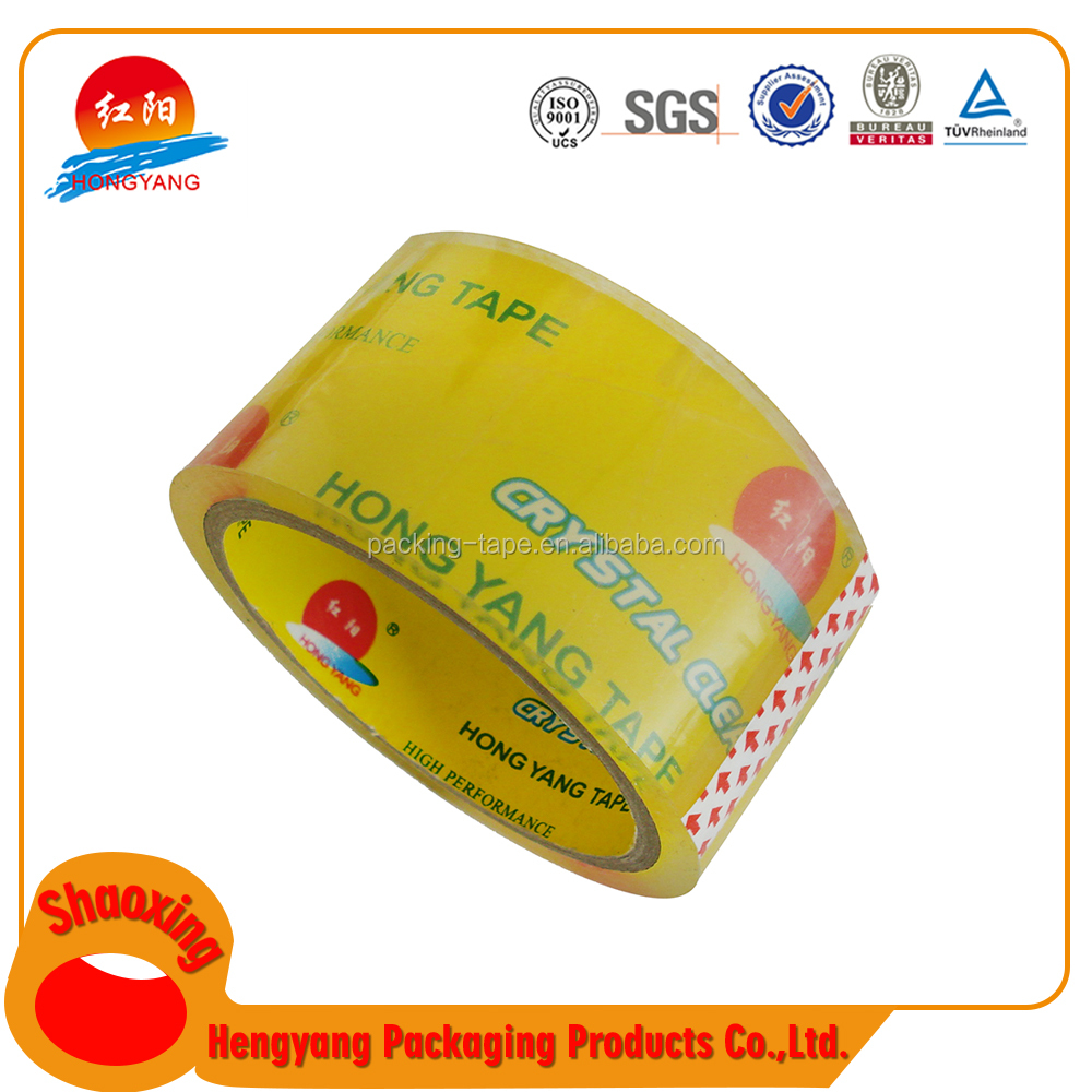 High Performance Waterproof Adhesive Parcel Tape/ Bopp Insulating Transfer Tape Vinyl