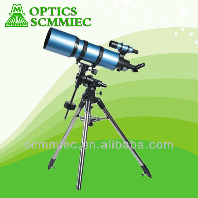 F750150 150mm High quality equatorial mount refractor telescope(astronomical telescope) with best price
