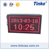 Indoor Digital LED Temperature And Humidity Monitoring System with Date Time Display
