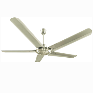 5 stainless steel blades ceiling fan to avoid rust outdoor on