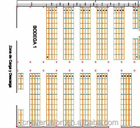 Magazijn rek opslag gratis magazijn layout ontwerp lading for Warehouse plans designs