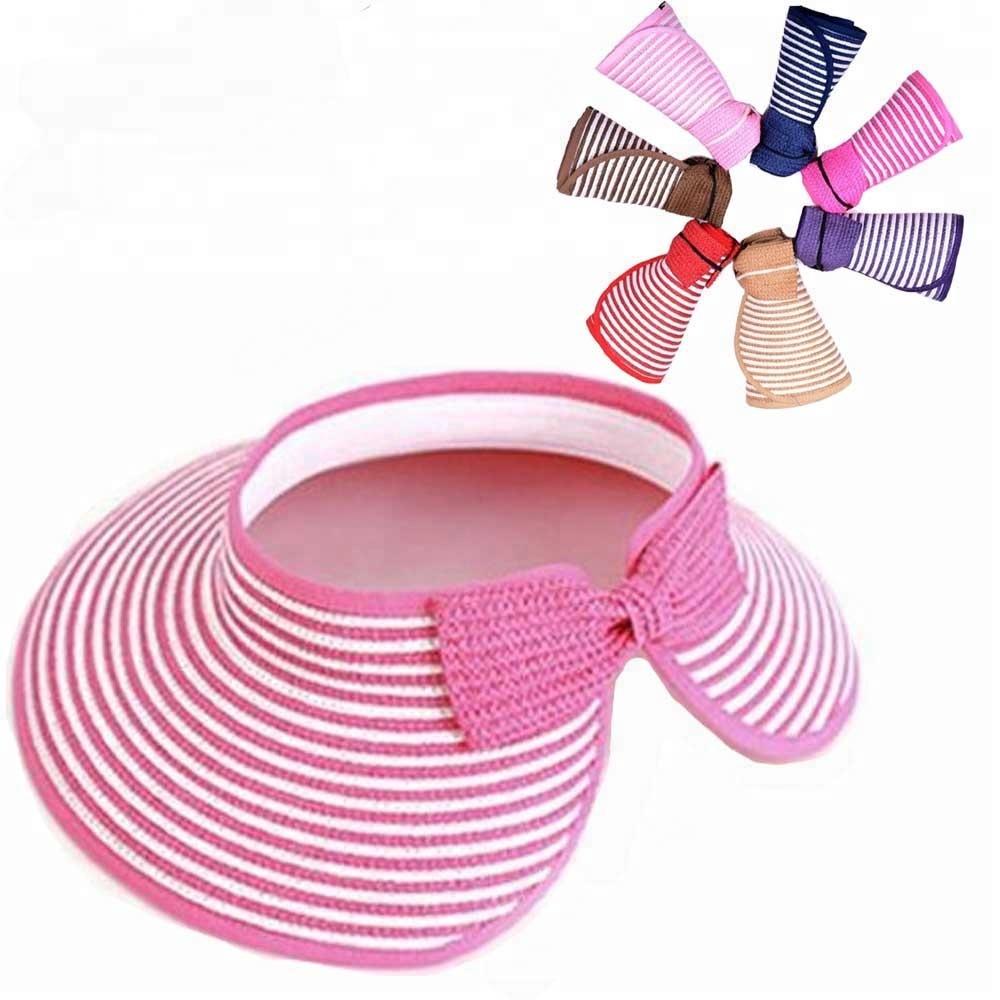 2bab382af05 Visor Sun Paper Straw Hat