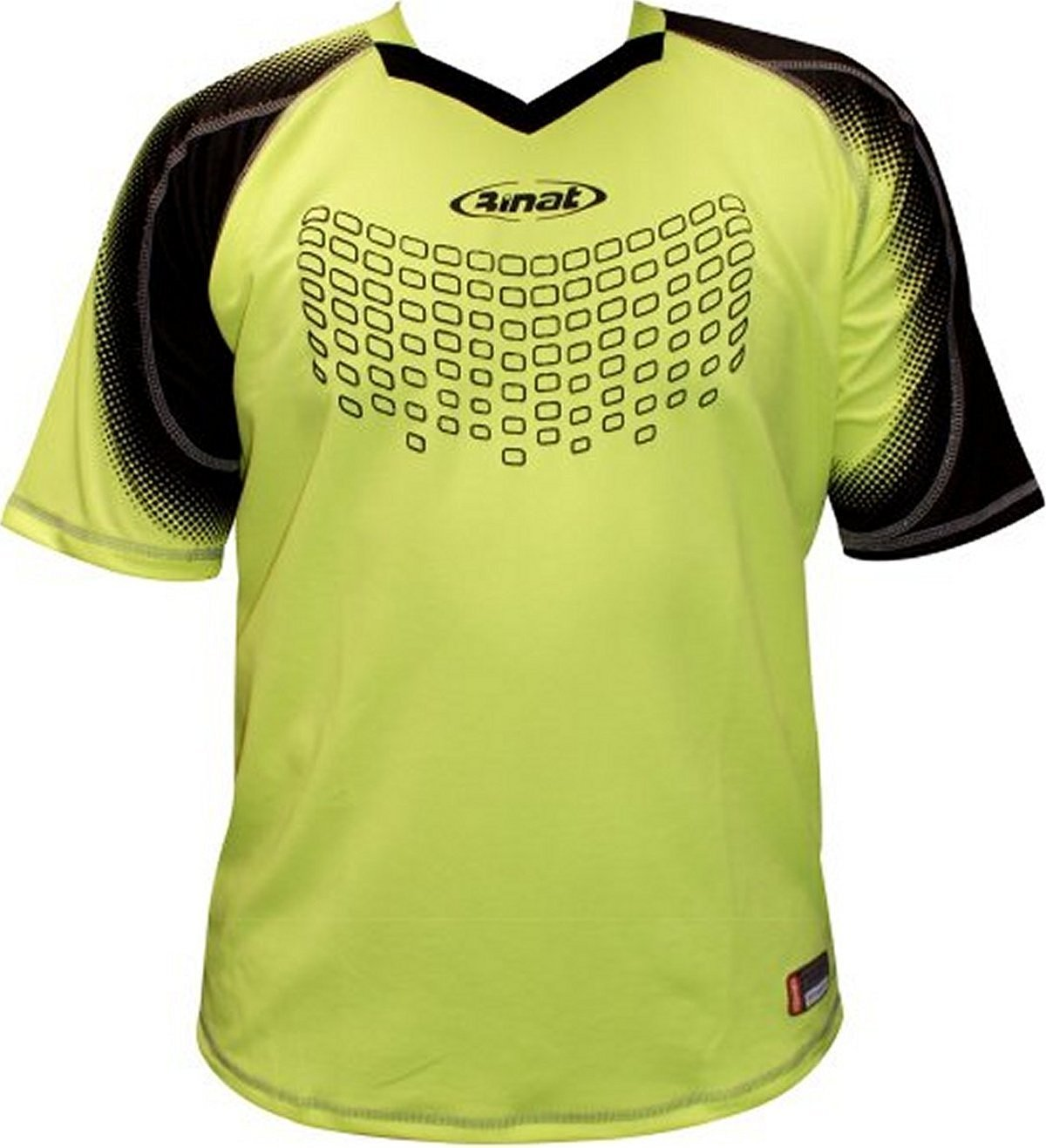 d170ea5eb72 Get Quotations · Rinat Scarpado Short Sleeve Goalkeeper Jersey - Neon Yellow
