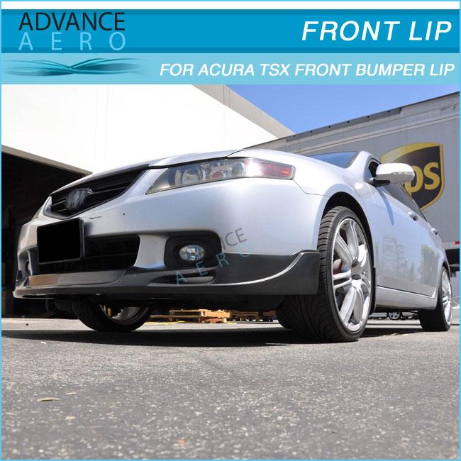 For Acura Tsx Mg Urethane Front Bumper Lip Spoiler Bodykits - Acura tsx front lip