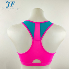 New design sexy strappy sport bra for young lady