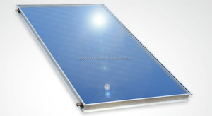 hot water heating flat plate solar thermal collector