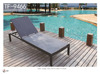 texeline material adjustable beach sun lounge / Texeline furniture TF-9466