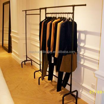 China Factory Retail Store Free Standing Display Stand Zara Clothing