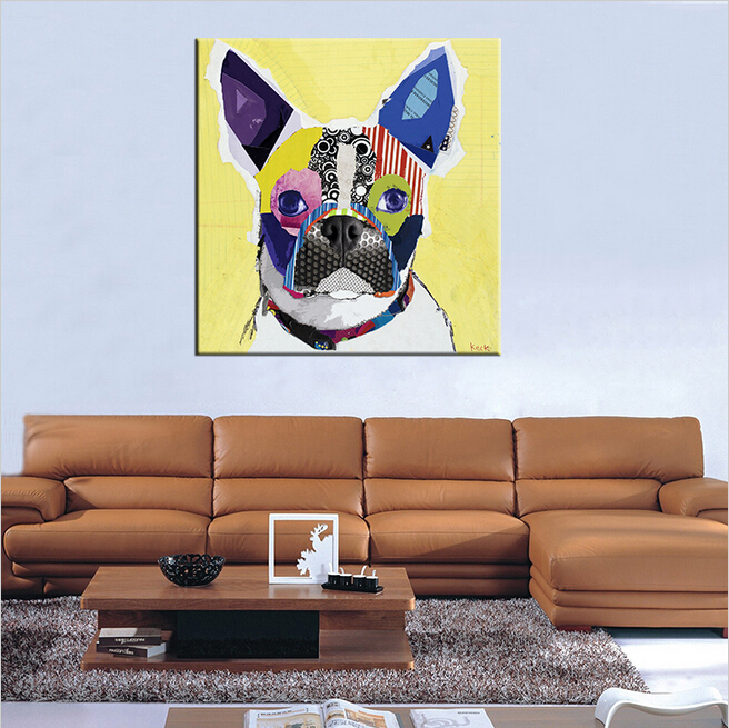 Home Decor Boston: Boston Terrier House Paint And Wall Painting For Home