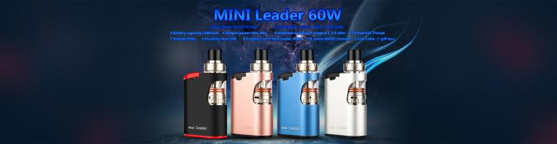 100% original high quality us-vape vape mods mini leader 60W No oil leaking 60w box mod