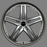 customized aluminum wheel rim,custom made standard part,wheel parts 18 inch, 19 inch 20 inch (ZW-P266)