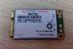 4G wireless CDMA module MC7750