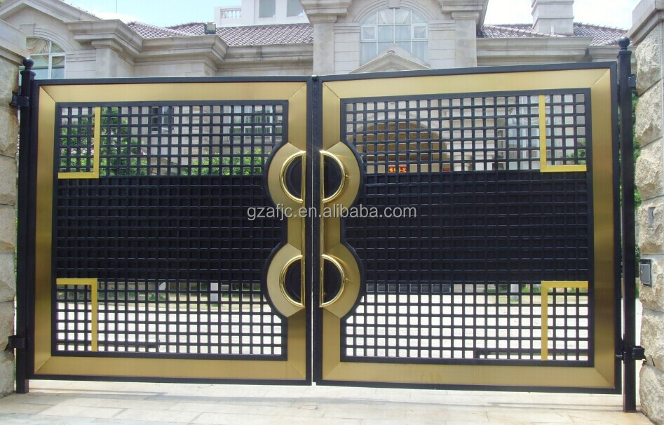 Slide Steel Gate Indian House Main Gate Designs Cast Iron Fence Buy Steel Metal Entrance Gate