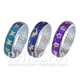 Metal Patterned Changing Colors Mood Ring Band Finger Ring