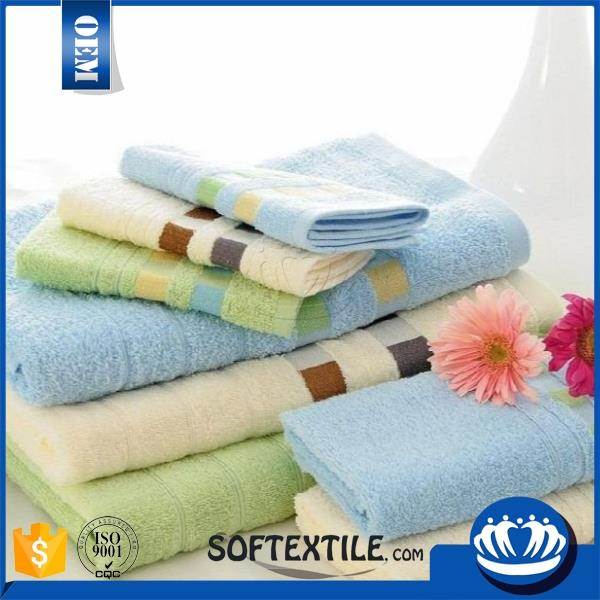personal custom-made fluffy 100% cotton hand towel fabric