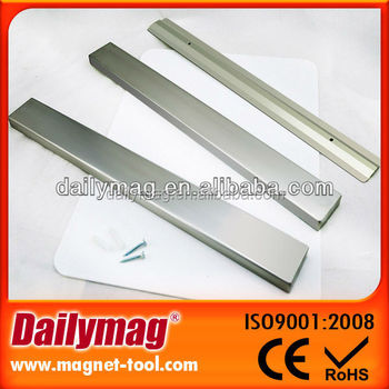 Rare Earth Refrigerator Double Sided Strong Thin Magnetic Strip Magnet Knife Holder