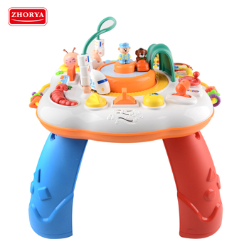 Educational baby game kids musical learning table